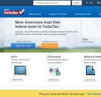turbotax.com screenshot