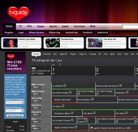tvguide.co.uk screenshot
