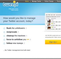 tweepi.com screenshot