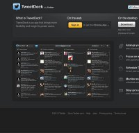 tweetdeck.com screenshot