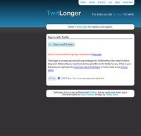 twitlonger.com screenshot