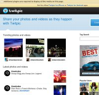 twitpic.com screenshot
