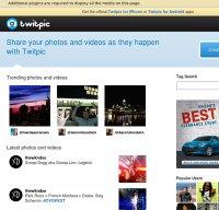 twitpic.com screenshot