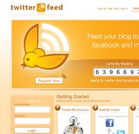 twitterfeed.com screenshot