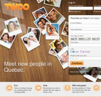 twoo.com screenshot