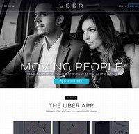 uber.com screenshot