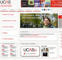 ucas.ac.uk screenshot
