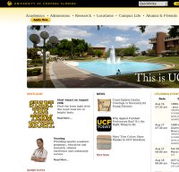 ucf.edu screenshot