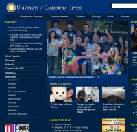 uci.edu screenshot