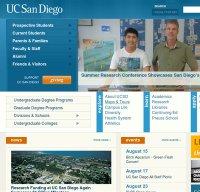 ucsd.edu screenshot