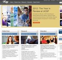ucsf.edu screenshot