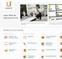 udacity.com screenshot