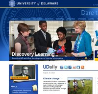 udel.edu screenshot