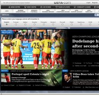 uefa.com screenshot