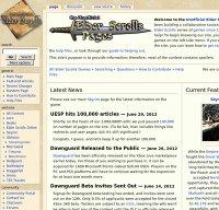 uesp.net screenshot