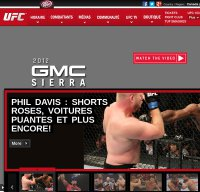 ufc.com screenshot