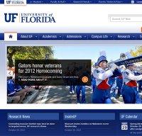 ufl.edu screenshot