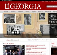 uga.edu screenshot