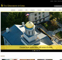 uiowa.edu screenshot