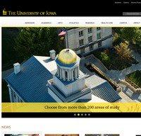 uiowa.edu screenshot
