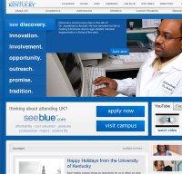 uky.edu screenshot
