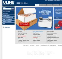 uline.com screenshot