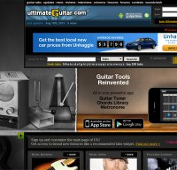 ultimate-guitar.com screenshot