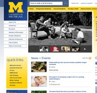 umich.edu screenshot