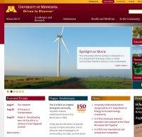 umn.edu screenshot