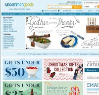 uncommongoods.com screenshot