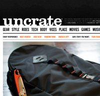uncrate.com screenshot