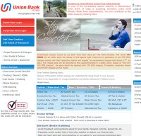 unionbankonline.co.in screenshot