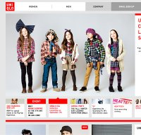 uniqlo.com screenshot