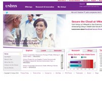 unisys.com screenshot