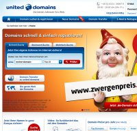 united-domains.de screenshot