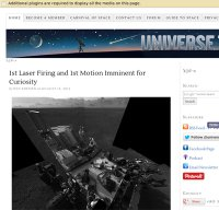 universetoday.com screenshot