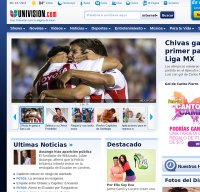 univision.com screenshot