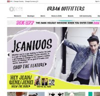 urbanoutfitters.co.uk screenshot
