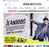urbanoutfitters.co.uk screenshot