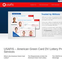 usafis.org screenshot