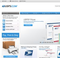 usps.com screenshot
