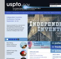 uspto.gov screenshot