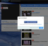 ustream.tv screenshot