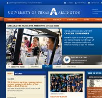 uta.edu screenshot