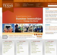utexas.edu screenshot