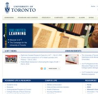 utoronto.ca screenshot