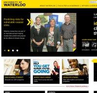 uwaterloo.ca screenshot