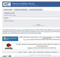 validator.w3.org screenshot