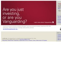 vanguard.com screenshot