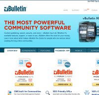 vbulletin.com screenshot